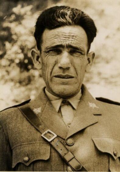 Cipriano Mera, el albañil-general del bando republicano durante la guerra civil FOTO: CEDIDA POR AUDEMA