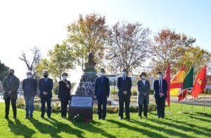 Homenaje al presidente mexicano Lázaro Cárdenas en Alcalá de Henares