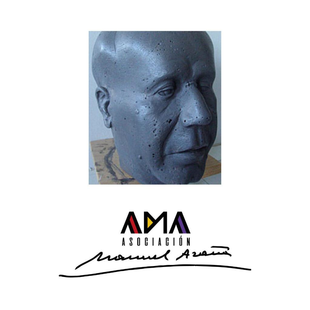 Busto Manuel Azaña Ama