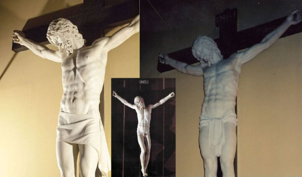 Crucifijo de Benvenuto Cellini