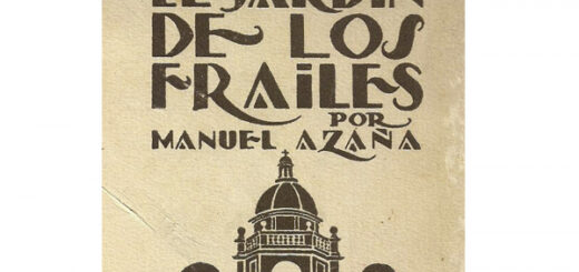 el jardín de los frailes- Manuel Azaña