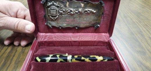 Pluma estilográfica que perteneció a don Manuel Azaña